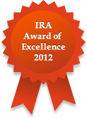 IRA Award of Excellence 2012